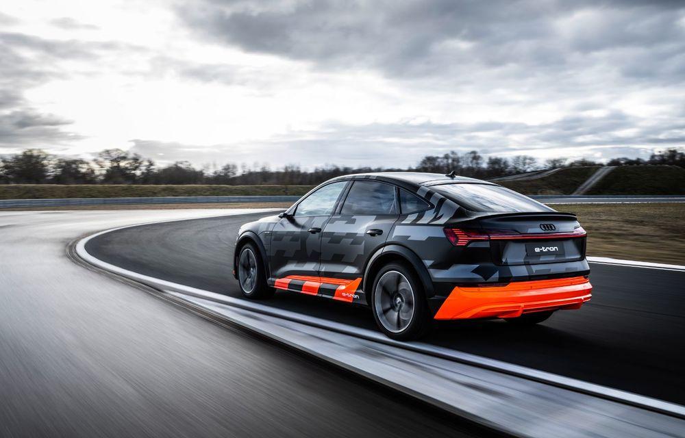 Audi e-tron S și e-tron S Sportback: versiunile de performanță au trei motoare electrice și până la 503 CP - Poza 28