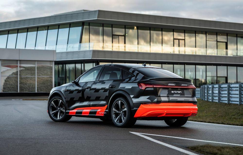 Audi e-tron S și e-tron S Sportback: versiunile de performanță au trei motoare electrice și până la 503 CP - Poza 9