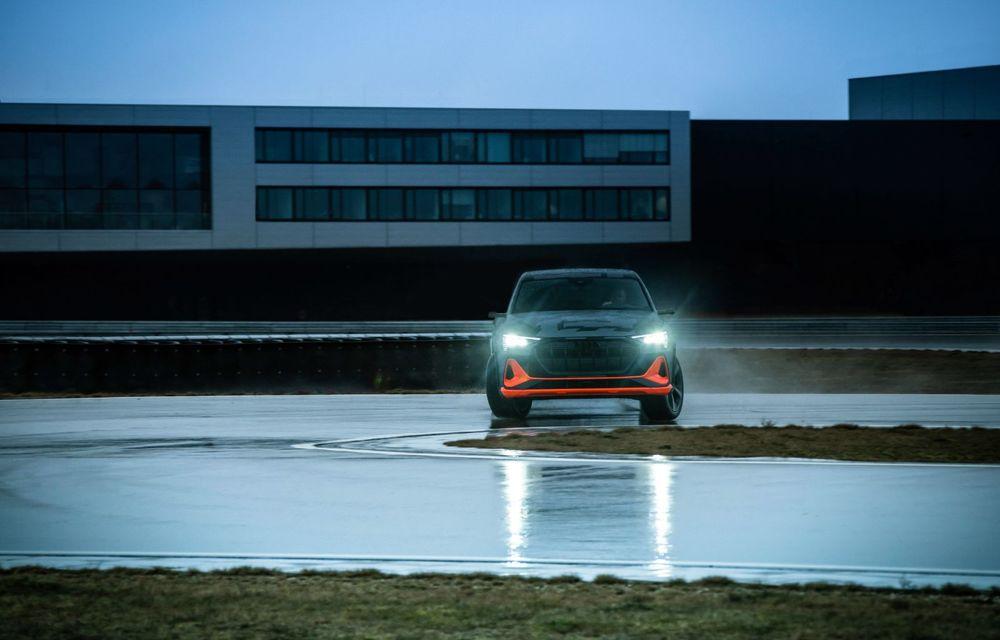 Audi e-tron S și e-tron S Sportback: versiunile de performanță au trei motoare electrice și până la 503 CP - Poza 44