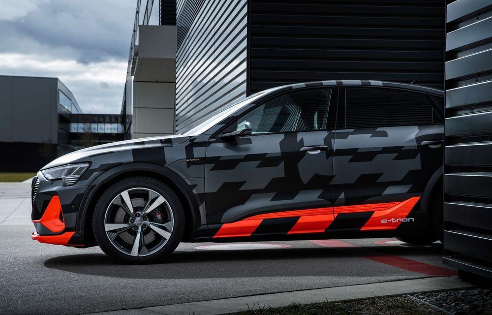 Audi e-tron S și e-tron S Sportback: versiunile de performanță au trei motoare electrice și până la 503 CP - Poza 49