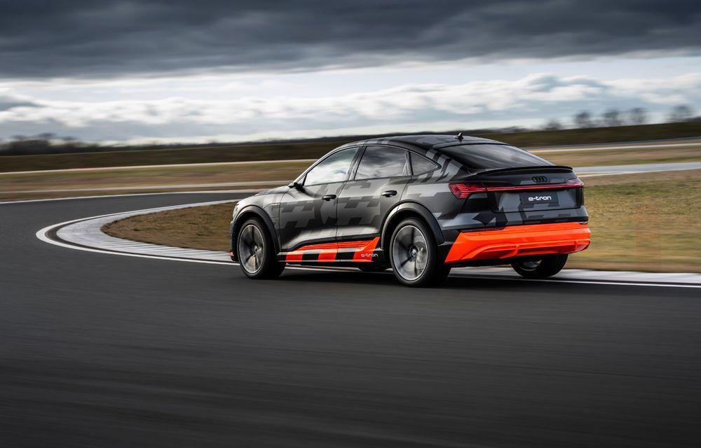 Audi e-tron S și e-tron S Sportback: versiunile de performanță au trei motoare electrice și până la 503 CP - Poza 29