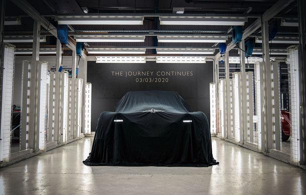 Prima imagine teaser cu viitorul model Morgan: motor cu patru cilindri și transmisie manuală - Poza 1