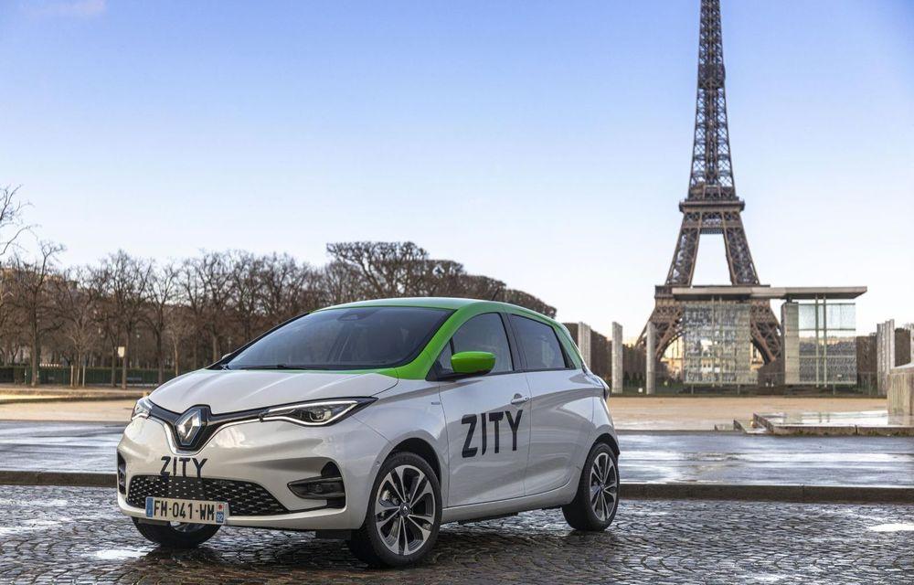 Renault a lansat un serviciu de car-sharing cu mașini electrice în Paris: Zity va fi disponibil și în alte orașe europene, în anii următori - Poza 1