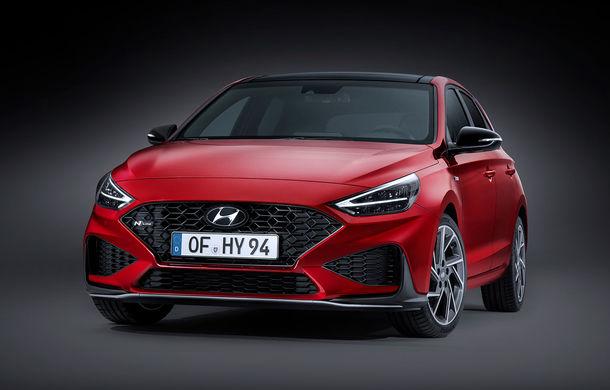Hyundai a prezentat i30 facelift: modificări estetice, pachet extins de sisteme de siguranță și motorizări mild-hybrid - Poza 1
