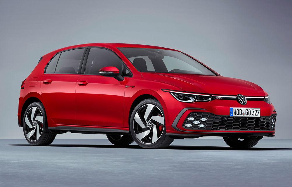 Volkswagen a prezentat noile Golf GTI, GTD și GTE: motoare cu puteri de până la 245 de cai și accesorii speciale pentru exterior și interior - Poza 1