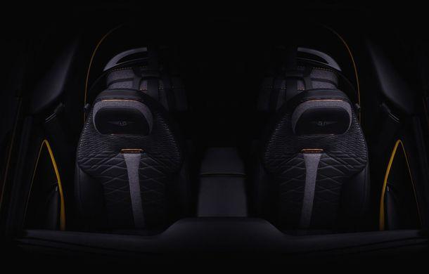 Primul teaser cu interiorul lui Mulliner Bacalar: noul model Bentley va fi prezentat pe 3 martie la Geneva - Poza 1