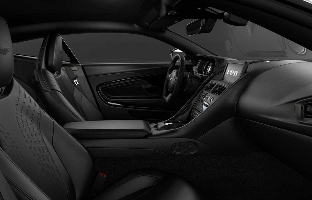 Aston Martin lansează DB11 V8 Shadow Edition: accesorii noi și producție limitată la 300 de unități - Poza 7