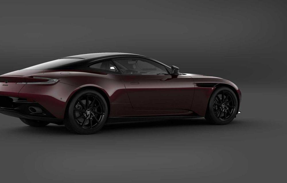 Aston Martin lansează DB11 V8 Shadow Edition: accesorii noi și producție limitată la 300 de unități - Poza 4