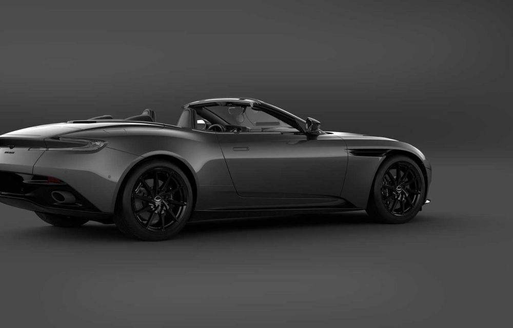 Aston Martin lansează DB11 V8 Shadow Edition: accesorii noi și producție limitată la 300 de unități - Poza 6