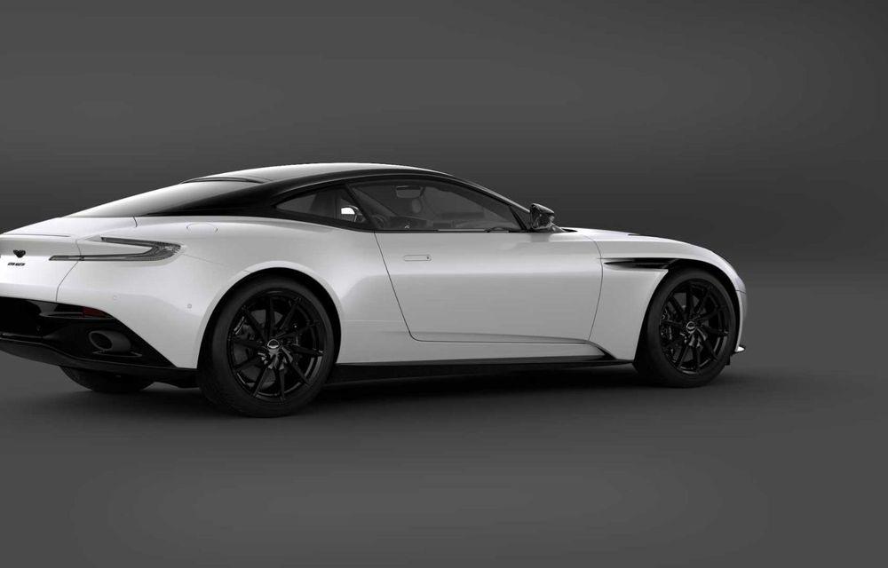 Aston Martin lansează DB11 V8 Shadow Edition: accesorii noi și producție limitată la 300 de unități - Poza 3