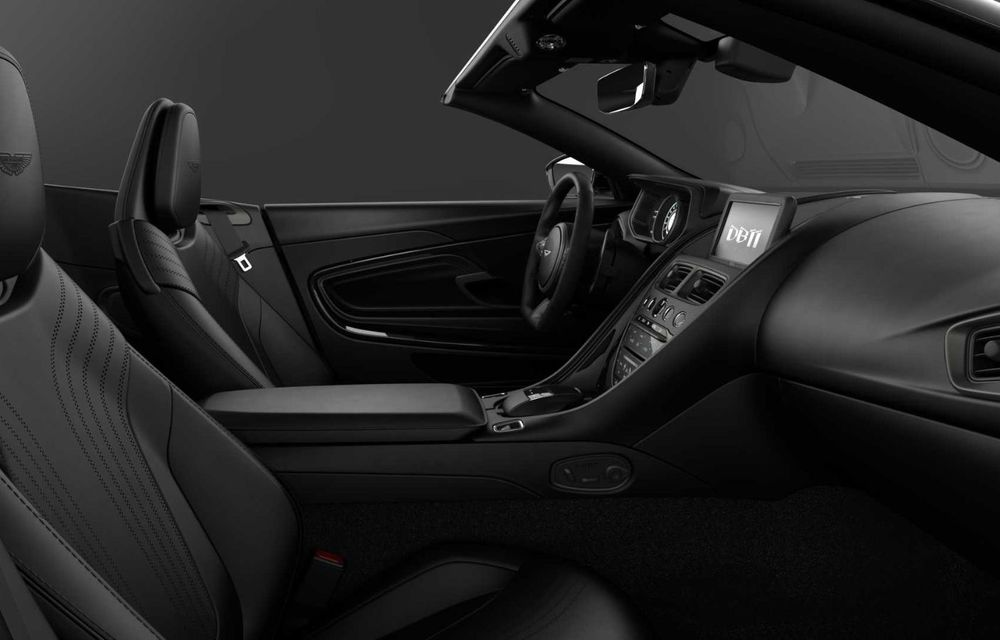 Aston Martin lansează DB11 V8 Shadow Edition: accesorii noi și producție limitată la 300 de unități - Poza 8