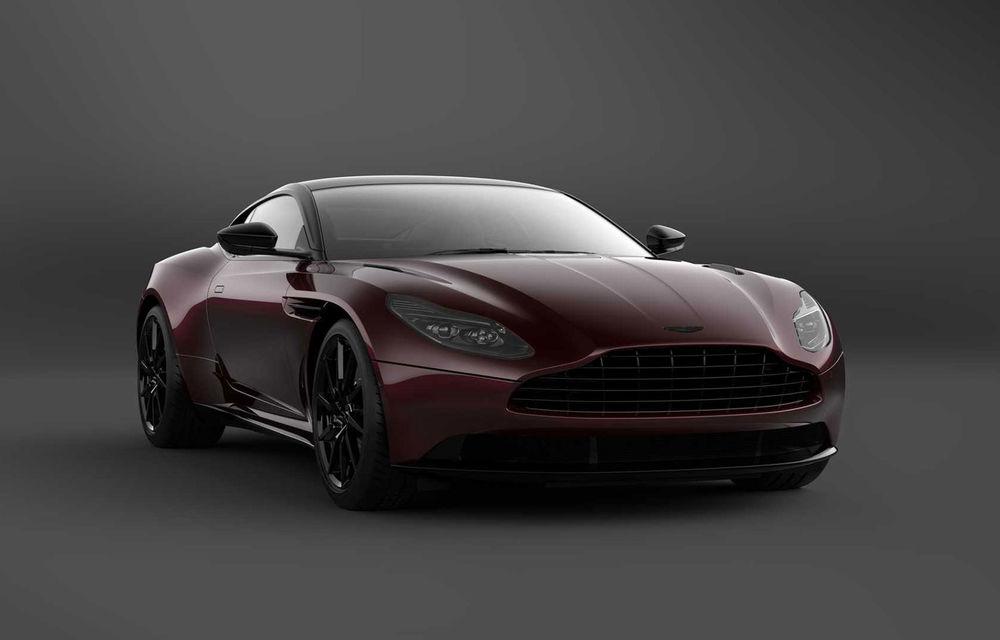 Aston Martin lansează DB11 V8 Shadow Edition: accesorii noi și producție limitată la 300 de unități - Poza 1