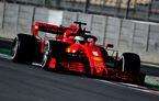 Vettel, cel mai bun timp în dimineața celei de-a doua zile de teste de la Barcelona: programul echipelor, bulversat de ploaie