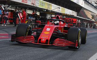 A doua zi de teste de la Barcelona: Vettel rămâne cel mai rapid, Hamilton a avut defecțiuni tehnice la motor