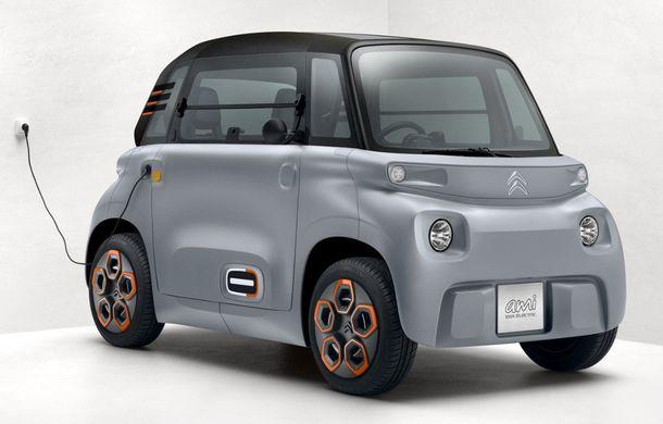 Citroen a lansat versiunea de serie a conceptului Ami One: cvadriciclu electric cu autonomie de 70 de kilometri și preț de 6.000 de euro - Poza 1
