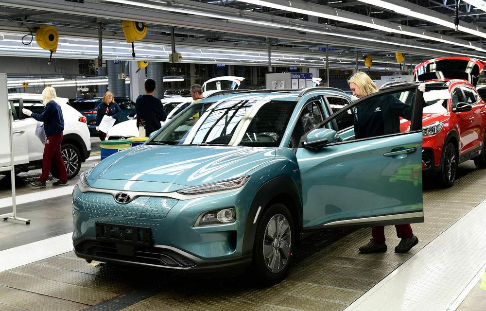 Hyundai a anunțat startul producției pentru Kona Electric în Cehia: 30.000 de exemplare în primul an - Poza 1