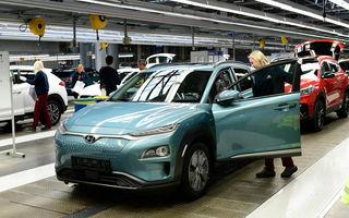 Hyundai a anunțat startul producției pentru Kona Electric în Cehia: 30.000 de exemplare în primul an