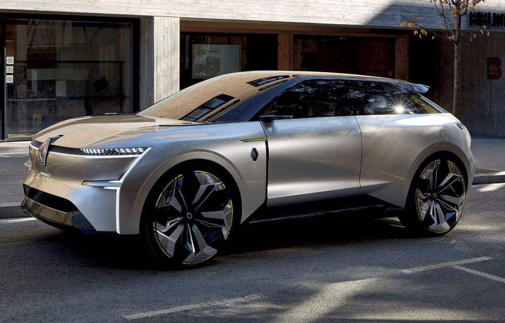 Renault prezintă Morphoz: conceptul este dezvoltat pe o nouă platformă și anticipează lansarea unei noi game de modele electrice - Poza 1