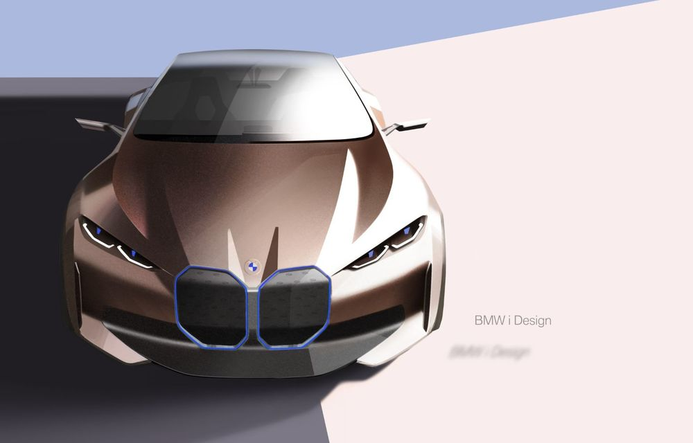 BMW a prezentat noul Concept i4: 530 CP și autonomie de până la 600 de kilometri. Versiunea de serie va fi produsă începând cu 2021 - Poza 61