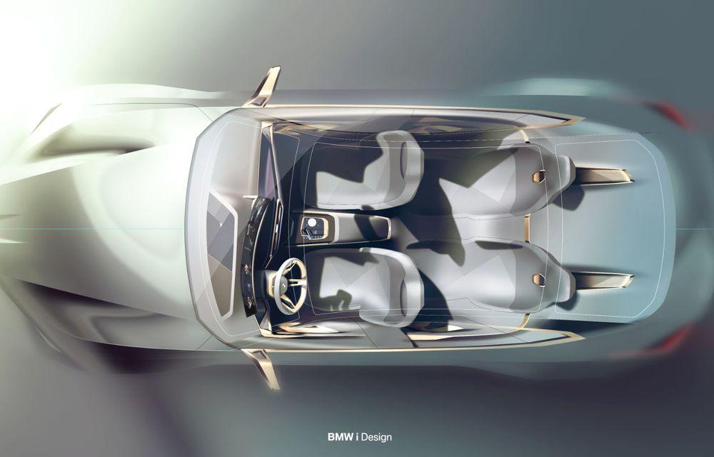 BMW a prezentat noul Concept i4: 530 CP și autonomie de până la 600 de kilometri. Versiunea de serie va fi produsă începând cu 2021 - Poza 74