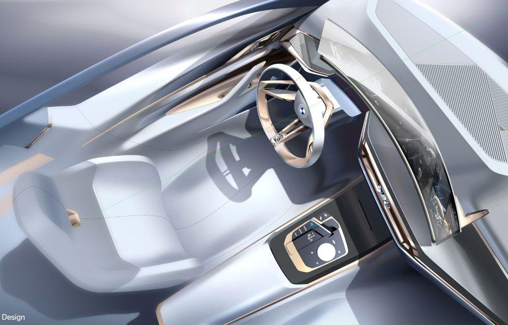 BMW a prezentat noul Concept i4: 530 CP și autonomie de până la 600 de kilometri. Versiunea de serie va fi produsă începând cu 2021 - Poza 66