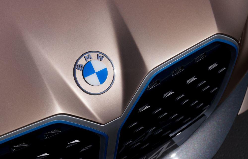 BMW a prezentat noul Concept i4: 530 CP și autonomie de până la 600 de kilometri. Versiunea de serie va fi produsă începând cu 2021 - Poza 22