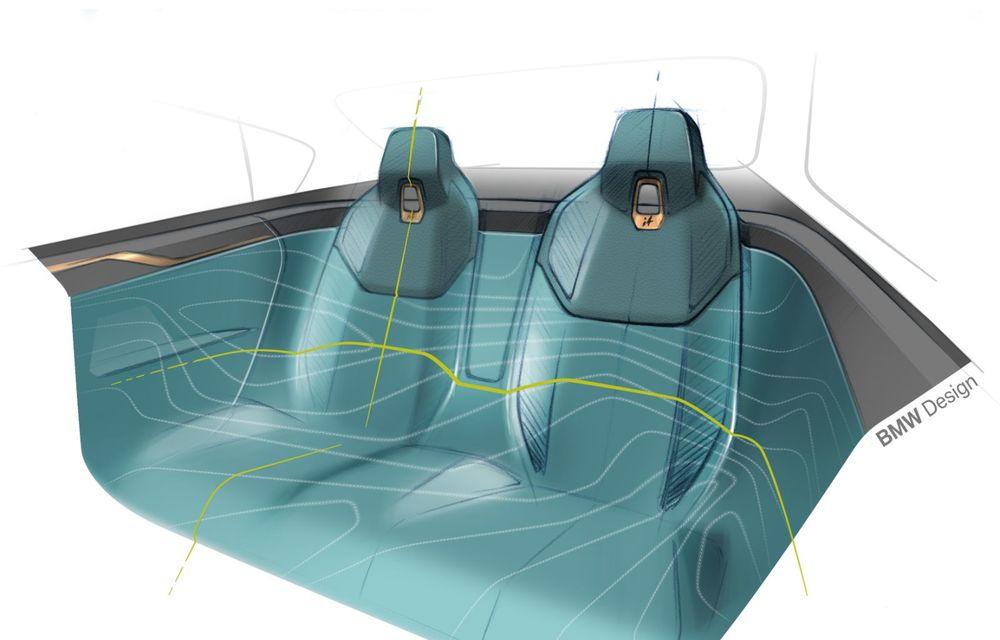 BMW a prezentat noul Concept i4: 530 CP și autonomie de până la 600 de kilometri. Versiunea de serie va fi produsă începând cu 2021 - Poza 67