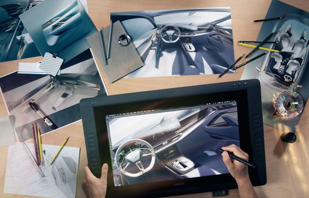 BMW a prezentat noul Concept i4: 530 CP și autonomie de până la 600 de kilometri. Versiunea de serie va fi produsă începând cu 2021 - Poza 45