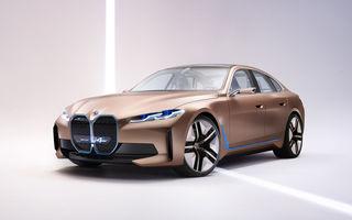 BMW a prezentat noul Concept i4: 530 CP și autonomie de până la 600 de kilometri. Versiunea de serie va fi produsă începând cu 2021