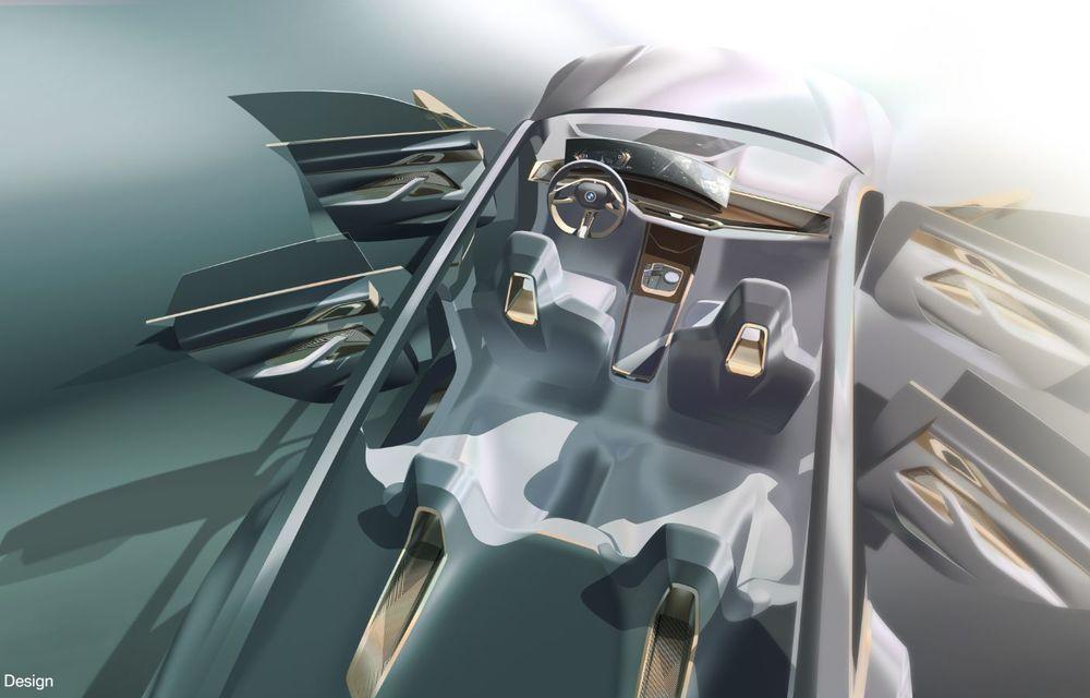 BMW a prezentat noul Concept i4: 530 CP și autonomie de până la 600 de kilometri. Versiunea de serie va fi produsă începând cu 2021 - Poza 73