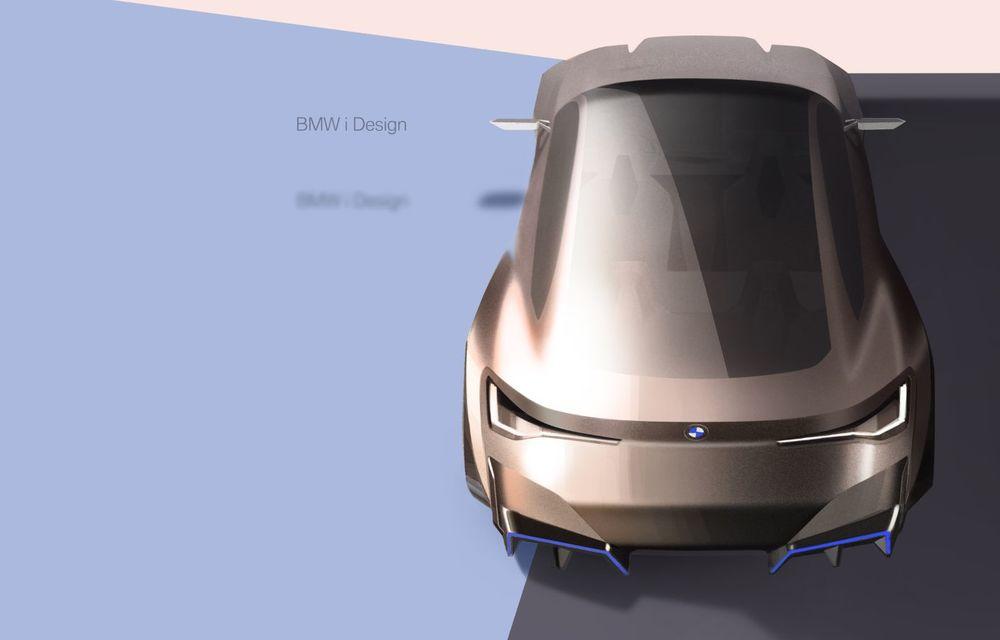BMW a prezentat noul Concept i4: 530 CP și autonomie de până la 600 de kilometri. Versiunea de serie va fi produsă începând cu 2021 - Poza 57