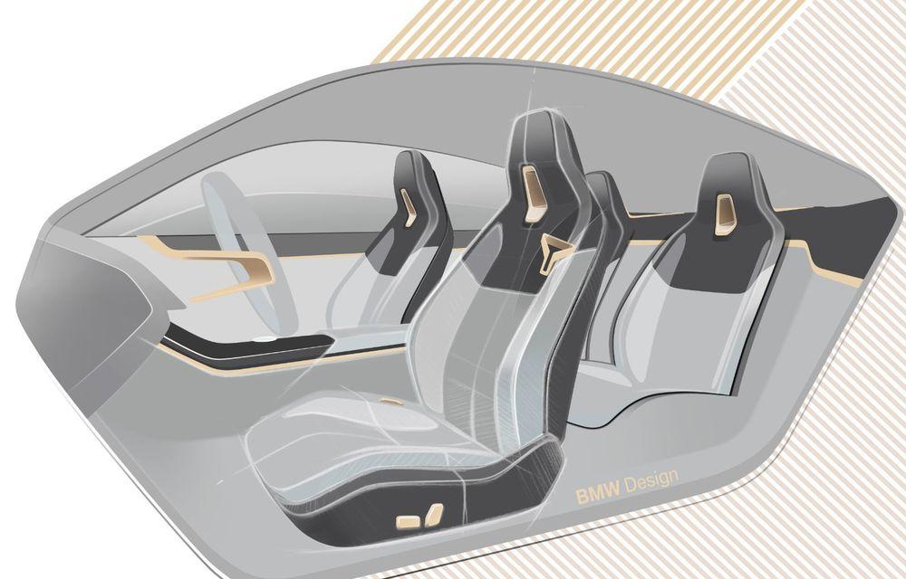 BMW a prezentat noul Concept i4: 530 CP și autonomie de până la 600 de kilometri. Versiunea de serie va fi produsă începând cu 2021 - Poza 71