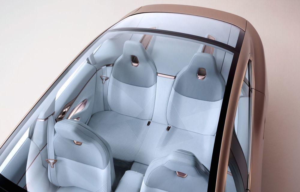 BMW a prezentat noul Concept i4: 530 CP și autonomie de până la 600 de kilometri. Versiunea de serie va fi produsă începând cu 2021 - Poza 35