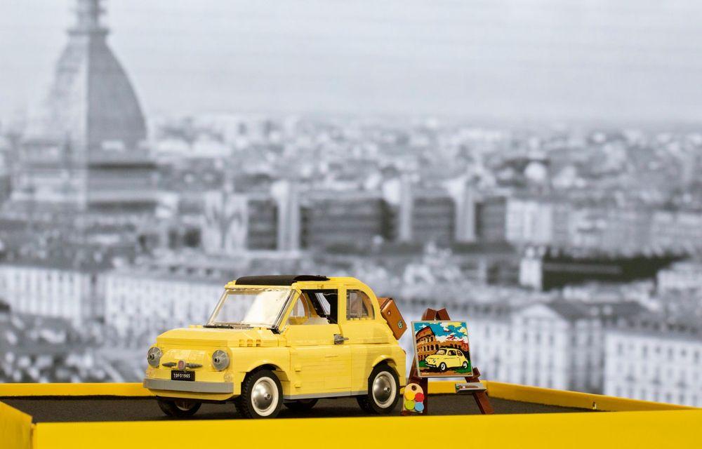 Lego a construit un Fiat 500 în mărime naturală: citadinul italian este fabricat din peste 189.000 de piese - Poza 9