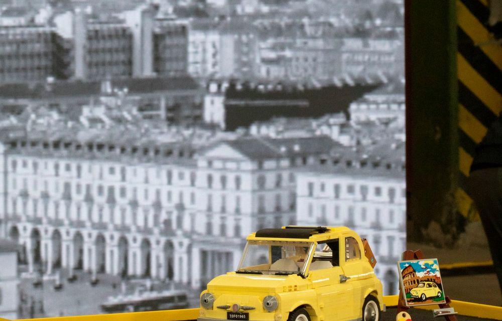 Lego a construit un Fiat 500 în mărime naturală: citadinul italian este fabricat din peste 189.000 de piese - Poza 7