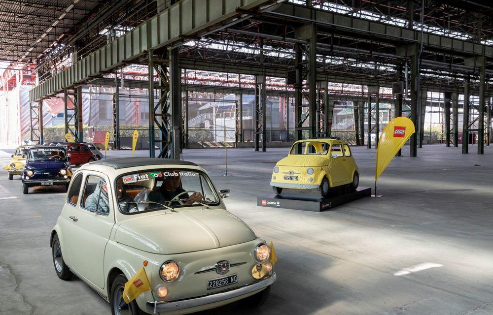 Lego a construit un Fiat 500 în mărime naturală: citadinul italian este fabricat din peste 189.000 de piese - Poza 4