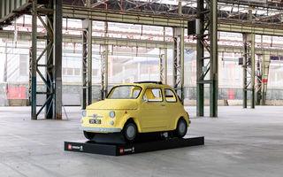Lego a construit un Fiat 500 în mărime naturală: citadinul italian este fabricat din peste 189.000 de piese