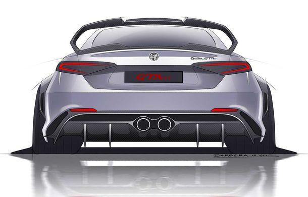 Alfa Romeo a prezentat noile Giulia GTA și Giulia GTAm: 540 de cai putere, masă totală mai mică și doar 500 de unități - Poza 9