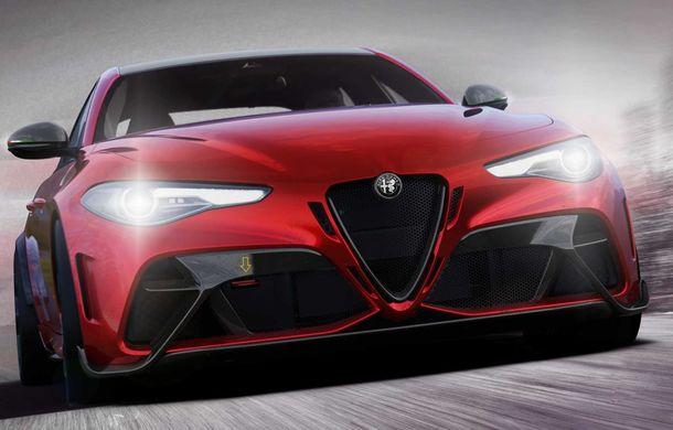 Alfa Romeo a prezentat noile Giulia GTA și Giulia GTAm: 540 de cai putere, masă totală mai mică și doar 500 de unități - Poza 5