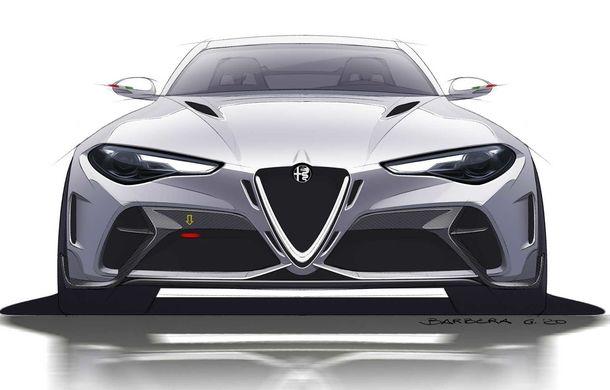 Alfa Romeo a prezentat noile Giulia GTA și Giulia GTAm: 540 de cai putere, masă totală mai mică și doar 500 de unități - Poza 8