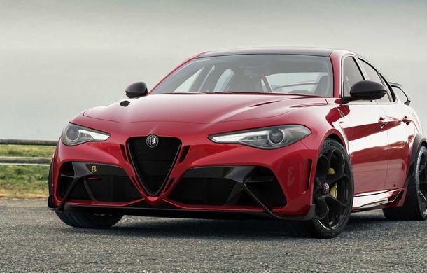 Alfa Romeo a prezentat noile Giulia GTA și Giulia GTAm: 540 de cai putere, masă totală mai mică și doar 500 de unități - Poza 4