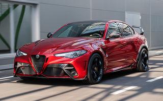 Alfa Romeo a prezentat noile Giulia GTA și Giulia GTAm: 540 de cai putere, masă totală mai mică și doar 500 de unități