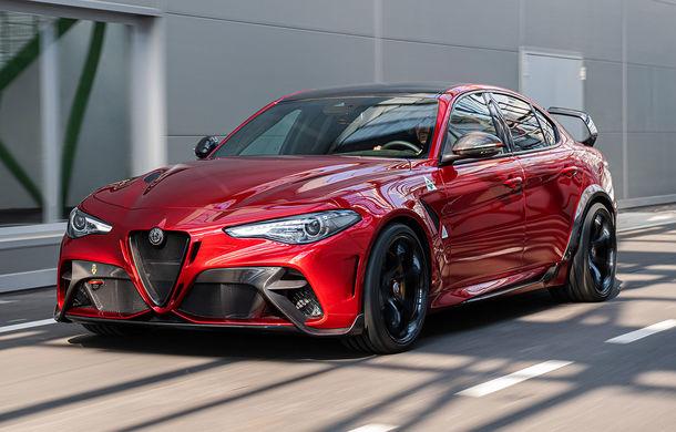 Alfa Romeo a prezentat noile Giulia GTA și Giulia GTAm: 540 de cai putere, masă totală mai mică și doar 500 de unități - Poza 1