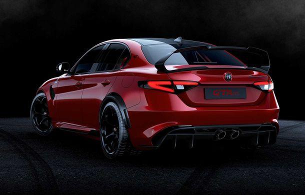 Alfa Romeo a prezentat noile Giulia GTA și Giulia GTAm: 540 de cai putere, masă totală mai mică și doar 500 de unități - Poza 12