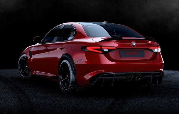 Alfa Romeo a prezentat noile Giulia GTA și Giulia GTAm: 540 de cai putere, masă totală mai mică și doar 500 de unități - Poza 3