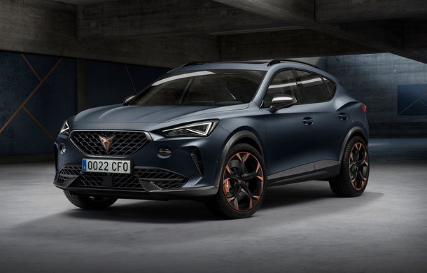 Cupra a prezentat SUV-ul de performanță Formentor: ibericii oferă o versiune plug-in hybrid cu 245 CP și o variantă pe benzină cu 310 CP - Poza 1