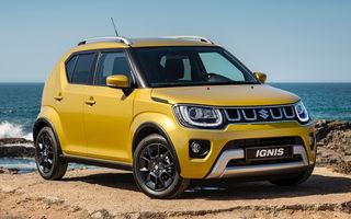 Suzuki Ignis a primit facelift: îmbunătățiri de design, motor de 1.2 litri cu 90 de cai putere și sistem mild-hybrid