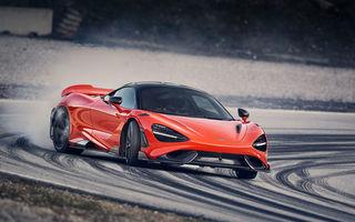 McLaren 765LT: motor V8 cu 765 CP și 0-100 km/h în doar 2.8 secunde