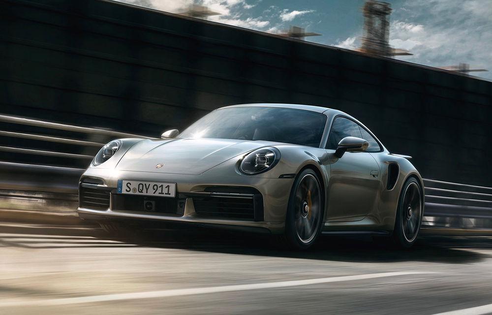 Atitudine de supercar: noul Porsche 911 Turbo S are 650 de cai putere și face 0-100 km/h în 2.7 secunde - Poza 1