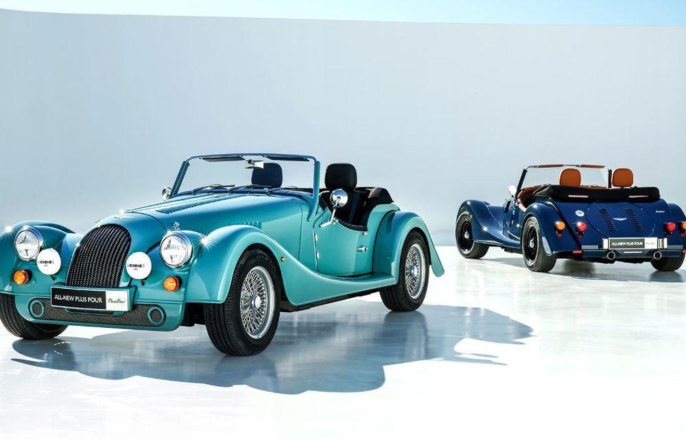Constructorul de nișă Morgan a lansat noul Plus Four: arhitectură din aluminiu și motor turbo de 2.0 litri - Poza 3